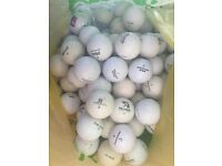 Old golf balls for sale 70+