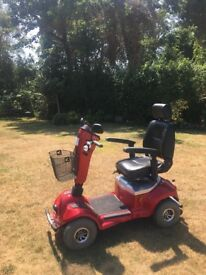 Fantastic Regatta Mercury mobility scooter