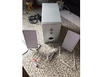 Advent mini sub woofer & speaker