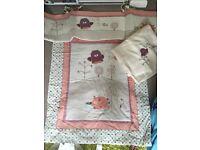 Cot bedding bundle excellent condition