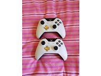 Xbox One Wireless Luna White Controller £30