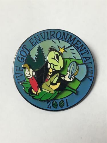 Jiminy Cricket - Environmentality 2001 Disney Cast Member ONLY Pin - Disneyland
