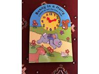 Bunny in a Hurry a learn to tell the time book