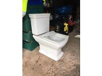 Victorian / Period Style Sink and Toilet Bathroom Suite