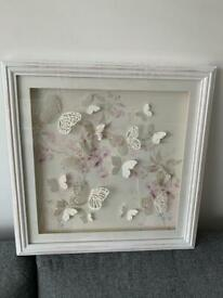 Beautiful Laura Ashley Butterfly Picture - perfect Xmas present