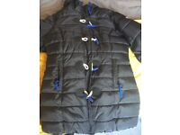 Ladies super dry toggle coat work once