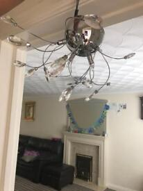 Pair of celling lights