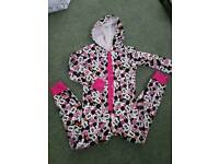 Minnie mouse girls onesie 7-8