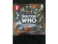 Dr Who dvd board game BRAND NEW