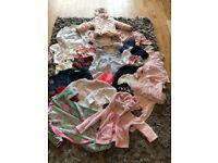 Very large baby girls clothes bundle age range 1-2 yr - lots of designer brands