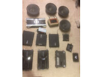 Bundle of Car Audio Accessories (Amps, Speakers, Bassbooster and more)