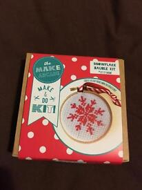 Christmas bauble kit