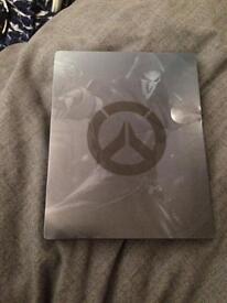 Overwatch origins edition steel book + game xbox one