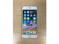 As new condition gold iphone 6s 16gb unlocked
