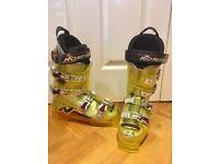 Nordica Mens Ski Boots - Yellow - Size UK 8