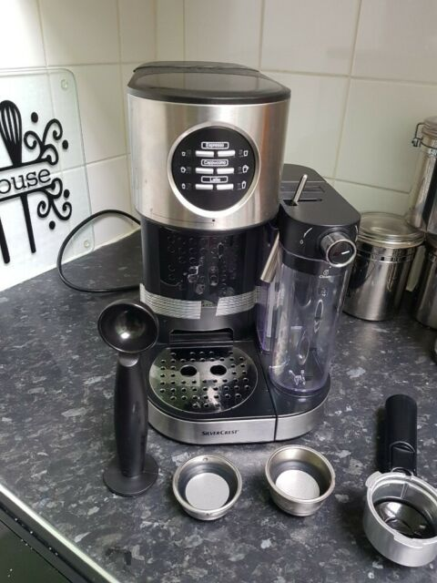 Espresso Machine With Milk Frother Silver Crest In New Town Edinburgh Gumtree