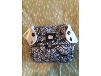 Bumgenius Freetime 'Osa' reuseable nappy - hardly used