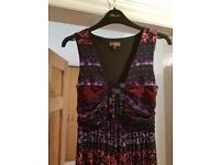 Phase Eight dress, size 8. Like new. Lovely material with stretch and bead detail.
