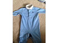 Baby boy designer Ralph Lauren bundle 0-3 months