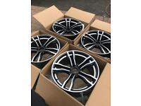 5 x 120 18 inch alloys Bmw 1 3 4 5 series m sport