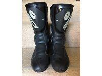 Sidi Evo black rain motorbike boot