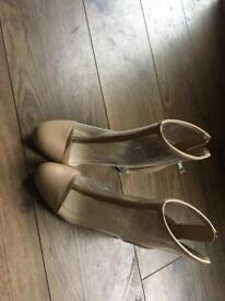 Primark Clear Boots - Size 6