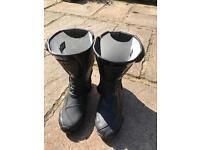Ladies motorbike boots size 6