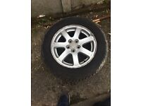 "15"" Subaru alloys 4 new tyres open to offers"