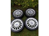 "Ford 17"" ST170 multi spoke alloy wheels"