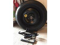 "Brand new space saver 16"" spare wheel kit"