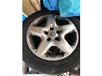 Vauxhall steel wheels 5 stud