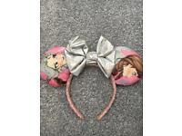 Frozen Minnie Ears for Disney World/Disneyland trips