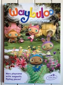 new unused Waybuloo Nara Playscene 32 Magnetic pieces board book nara playscene)