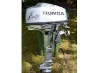HONDA BF5 OUTBOARD 5HP BREAKING