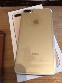 iPhone 7plus gold 32gb.Like new UNLOCKED