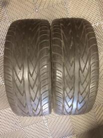 2 x Toyo Proxes 4 tyres 195/45/15