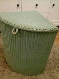 Lloydd Loom Linen Basket