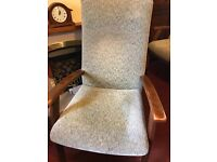 3 old, very good condition chairs,