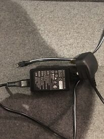 Sony Handycam DCR SR68 Charger and Power lead