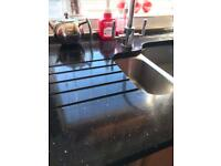 Full fitted kitchen with solid granite tops
