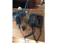 Black and decker heat gun and jigsaw