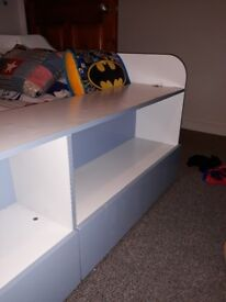 Childrens single cabin bed low sleeper