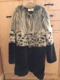 Urban code faux fur coat