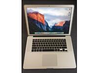 """MacBook Pro 15.4"""" Mid 2012 2.7GHz i7 Quad Core 8GB RAM 256GB SSD"""