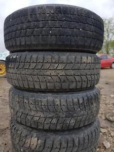 195 60 15 set of 4 winter BRIDGESTONE tires