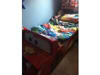 Disney Cars Bed - Toddlers size