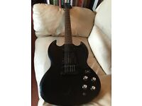 Epiphone SG X11 fitted with Gibson Tony Iommi pickup set