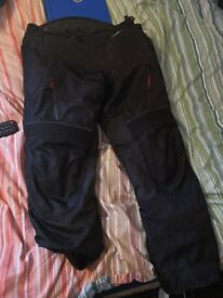 Bike jacket and trousers