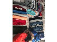 LARGE BUNDLE OF BOYS CLOTHES AGE 5-6