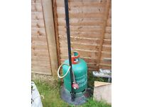 Gas Patio Heater and Canister